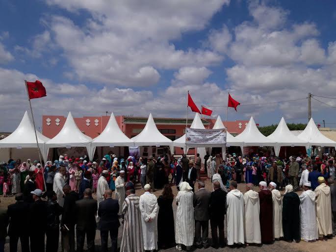 الخرقة السايسية حاضرة ضمن برنامج غرفة الصناعة التقليدية الدار البيضاء- سطات.