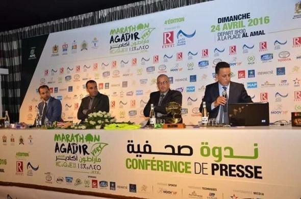 أكادير: ندوة صحفية لتسليط الضوء على الدورة الرابعة للمراطون الدولي الأخضر.