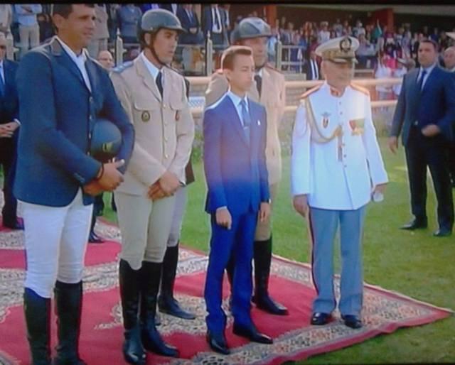 صاحب السمو الملكي ولي العهد الأمير مولاي الحسن يترأس بالرباط حفل تسليم الجائزة الكبرى لجلالة الملك محمد السادس