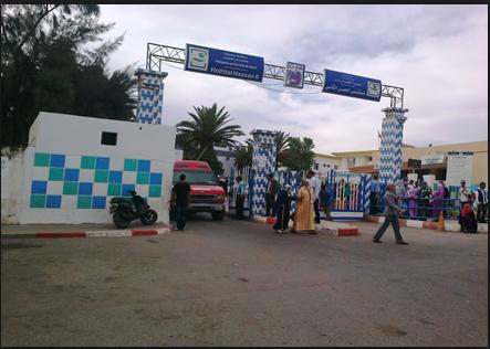 الاستهتار واضح بصحة المواطن من قبل مسؤولي القطاع بمدينة سطات مستشفى الحسن الثاني نموذج