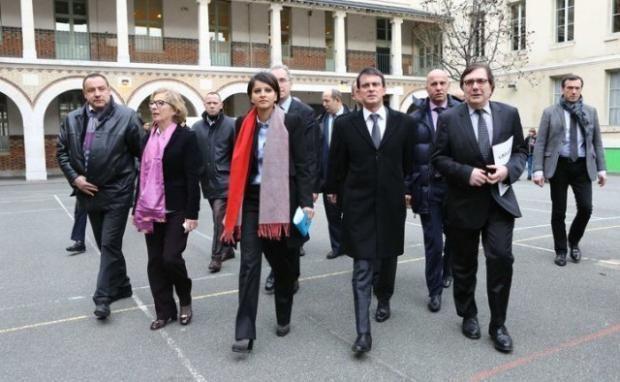 وزيرة التعليم الفرنسية نجاة بلقاسم تفرض اللغة العربية رسمياً في المدارس الفرنسية