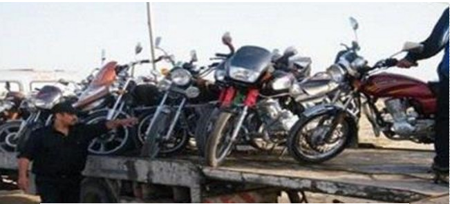 غرامات بقيمة 900 درهم تنتظر مستعملي الدراجات