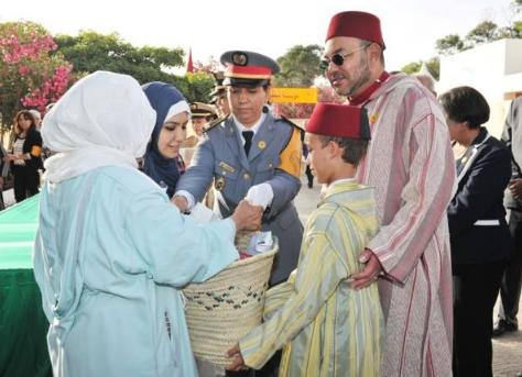 """جلالة الملك يشرف بالرباط على انطلاق عملية الدعم الغدائي """"رمضان 1437"""""""