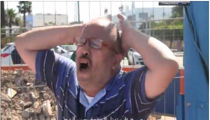 """بالفيديو: مواطن يصرخ بأعلى صوته """"قهرتونا بالرشوة .. راه جيب المغاربة خوا."""