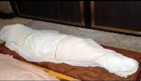 العثور على جثة متعفنة داخل محل