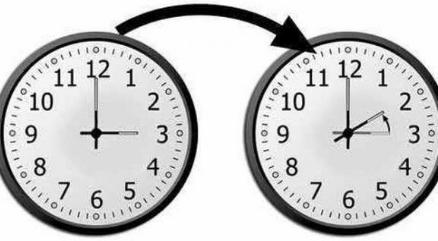تأخير الساعة بستين دقيقة عند الساعة الثالثة صباحا من يوم الأحد 05 يونيو الجاري