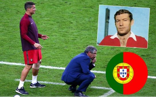 …أسطورة البرتغال يهاجم رونالدو