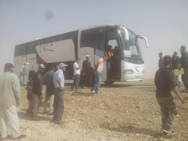 شيشاوة:مصرع سائق حافلة بسكتة قلبية بجماعة سيدي المختار