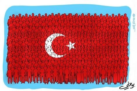 انقلاب فاشل بتركيا