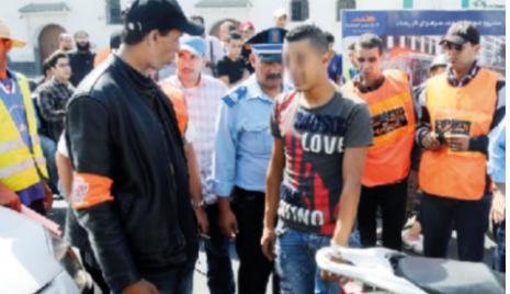 القاء القبض على شخصين بالمحمدية