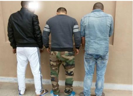 إعتقال عصابة خطيرة بحد السوالم إقليم برشيد