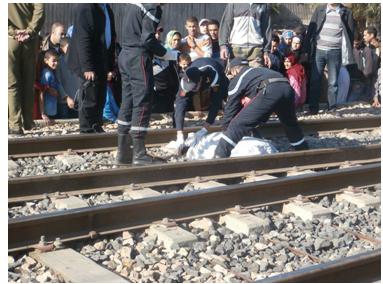 ألقى بنفسه أمام القطار القادم من مدينة فاس والمتوجه صوب مدينة مراكش