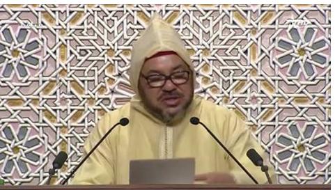 الخطاب الكامل التاريخي والقوي للملك محمد السادس من قبة البرلمان