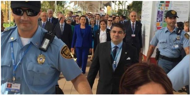 بوليس الأمم المتحدة ماعقلوش على زعماء سياسيين مغاربة في قمة المناخ بمراكش