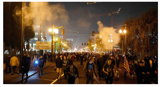 عاجل : أمريكا تحترق .. بداية الربيع الأمريكي (فيديو و صور)