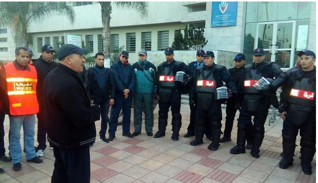 """الأمن الوطني بأحيا مدينة برشيد يشن حملات تمشيطية واسعة """""""