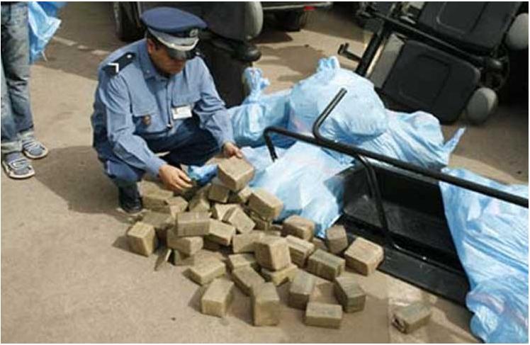 السلطات المغربية تضبط محاولة لتهريب أكثر من طنين من المخدرات