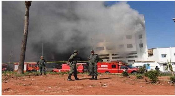 سلا: مصرع أربعة أشخاص بعد اندلاع حريق