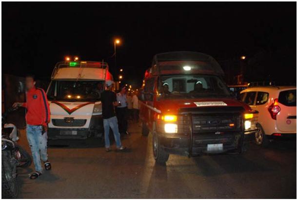 """توقيف رئيس جماعة  تسبب في حادث مروع وهو """"سكران بيلة"""" بمراكش"""