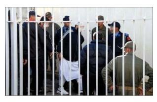 أحكام تتراوح بين سنة وثماني سنوات سجنا نافذا في حق 12 متهما توبعوا من أجل أفعال إرهابية