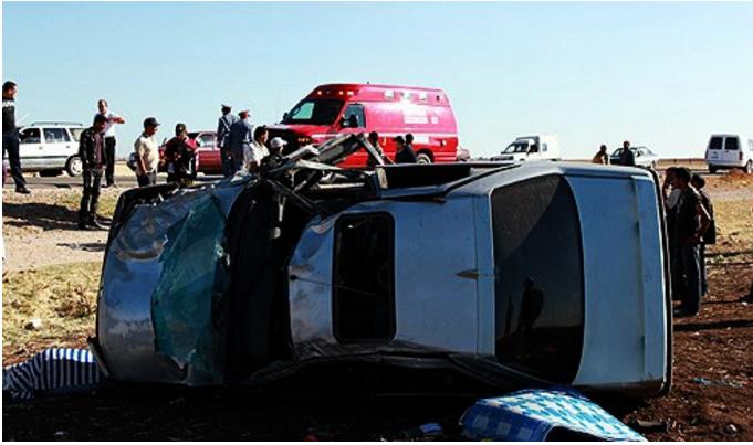 حادث مأساوي وقع فجر اليوم الجمعة أسرة من6 أفراد من سيدي بنور تفارق الحياة