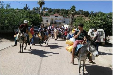 """ضيعات فلاحية تسبب """"العطش"""" لسكان جماعة قروية بإقليم تازة"""