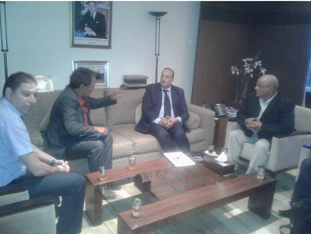 النقابة المستقلة للصحافيين المغاربة تواصل اجتماعاتها مع السيد وزير الثقافة والاتصال حول ملفها المطلبي وسبل معالجة أعطاب القانون رقم 88/13