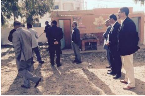 عامل اقليم الجديدة يقلب الطاولة على مسؤولي اولاد غانم ، والمدير الاقليمي يشعلها بإعدادية خالد بن الوليد