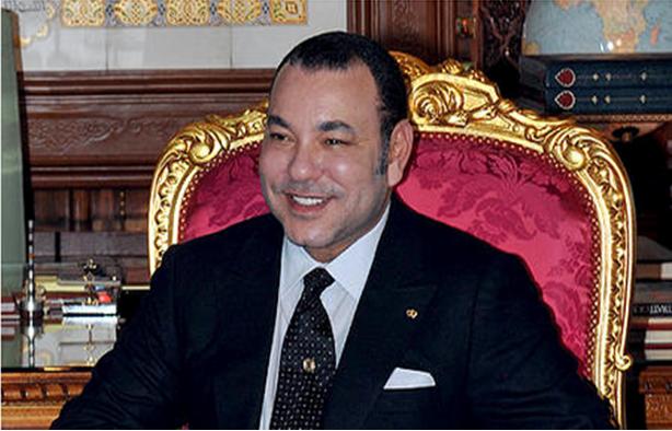 جلالة الملك يهنئ أعضاء المنتخـب الوطني المغربي للاعبين المحليين لكرة القدم بفوزه ببطولة أمم إفريقيا 2018