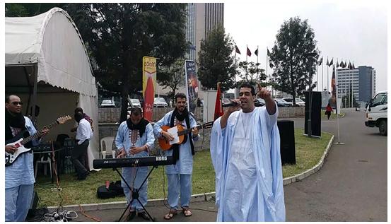 فرقة منار العيون تساهم في تعزيز الإشعاع الثقافي المغربي بالخارج