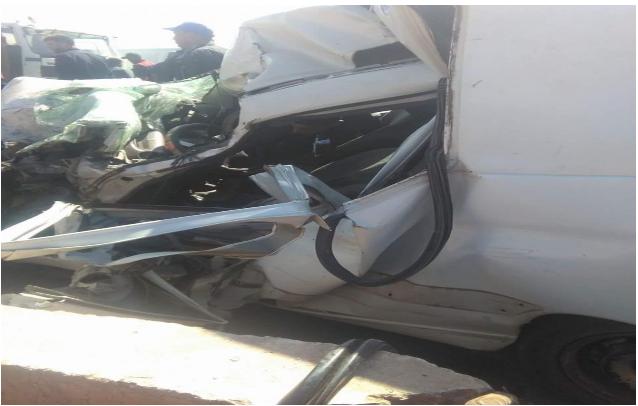 حادثة سير خطيرة بالطريق الرئيسية مديونة تيط مليل
