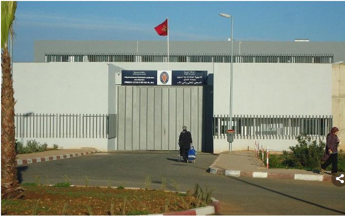 إدارة السجن المحلي عين السبع 1 تنفي دخول نزيل بالمؤسسة في إضراب عن الطعام