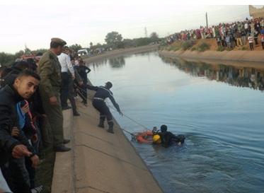 مصرع طفل غرق في قناة للري بالفقيه بن صالح