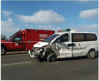 مصرع سيدة حامل داخل سيارة اسعاف تعرضت لحادثة سير بسيدي رحال