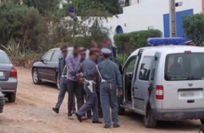عناصر الدرك الملكي بالمركز الترابي لسطات تعتقل أفراد عصابة متخصصة في الذبيحة السرية و سرقة المواشي