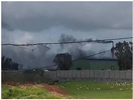 مواطنون ببرشيد يتهمون مصانع بالتسبب في وفيات و انتشار أمراض خطيرة !