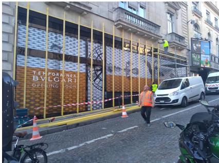 صور/إستنفار بالعاصمة الفرنسية تحسباً لمظاهرات ضخمة وسط إغلاق المحلات وتسييجها