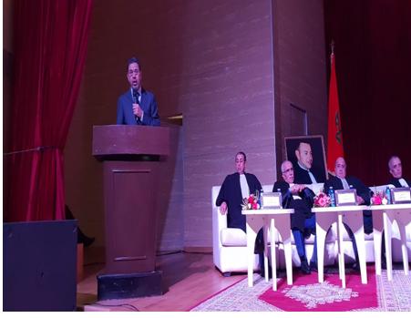 عبد النباوي : المحامي له دورٌ أساسي في النظام القضائي وترسيخ العدالة