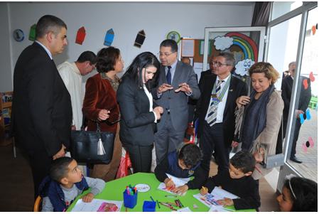 أزيد من  1000  طفلا يستفيدون من التعليم الأولي العمومي   بالمديرية الإقليمية للوزارة بعمالة مقاطعة عين الشق
