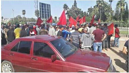 الاحتقان الاجتماعي يخرج ساكنة بن ياكرين مؤزرين بجمعيات المجتمع المدني إقليم سطات إلى الاحتجاج