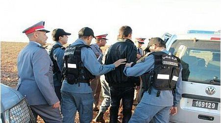 """إيقاف وإعتقال أكبر بارون للمخدرات كان ينشط بجهة الدار البيضاء سطات وحجزت لديه مخدر الشيرا على مستوى منطقة سيدي رحال"""""""
