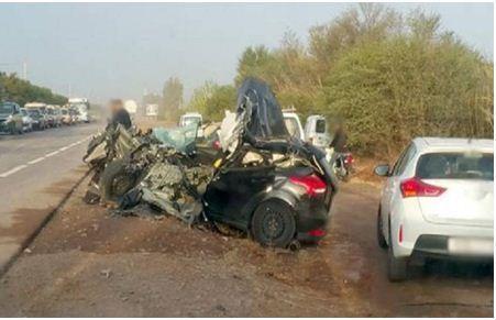 مصرع شخص وإصابة اثنين آخرين في حادثة سير مروعة بسطات