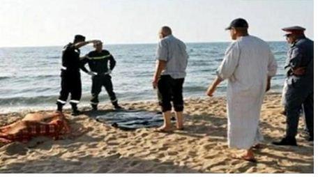 شاطئ سيدي عابد بالجديدة يلفظ جثة بدون رأس و بدون جهاز تناسلي