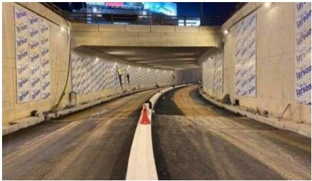 """خبار سار للبيضاويين..هذا موعد افتتاح نفق """"غاندي"""" في وجه حركة المرور"""