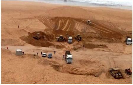 تقرير: مافيا الرمال تفوت على خزينة الدولة حوالي 5 ملايير درهم