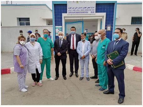 وزير الصحة في زيارة مفاجئة للمركز الصحي بمدينة البير الجديد