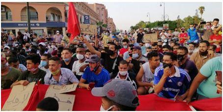 نقل السوق الاسبوعي يُخرج ساكنة سيدي بنور للاحتجاج