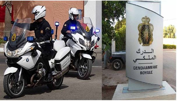 في ظرف قياسي.. الدرك يحجز 20 دراجة وسيارات أجرة مخالفة بالحوز