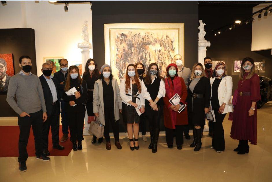 """افتتاح المعرض التشكيلي """"ومضة"""" بقاعة Living 4 ART بالدار البيضاء"""