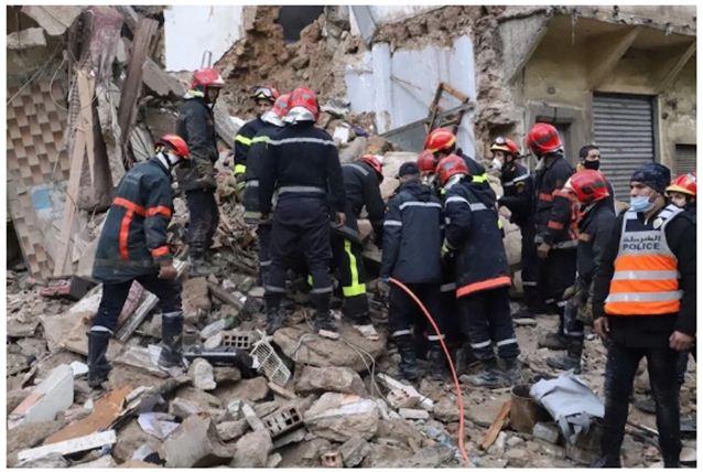 أسر تتهم السلطات بالوقوف وراء فاجعة انهيار منزل بالدار البيضاء